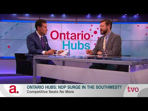 Ontario Hubs: NDP Surge in the Southwest?