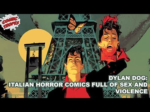 Dylan Dog: An Italian Horror Comic Full of Sex and Violence thumbnail