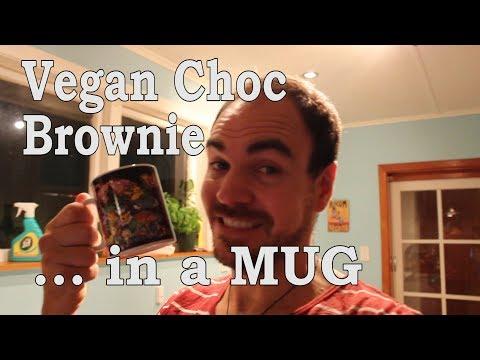 Vegan Chocolate Mug Brownie