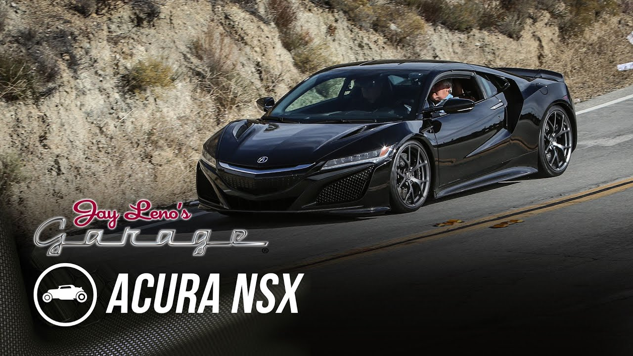2017 Acura NSX - Jay Leno's Garage - YouTube