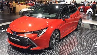 2019 Toyota Corolla Hybrid first look and FULL REVIEW