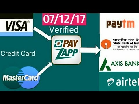 Credit Card To Bank Account |Transfer Money | 07/12/17 | Latest Method | Zero Charge + No GST