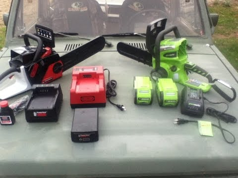 Ryobi 40v Electric Chain Saw Consumer Review Doovi