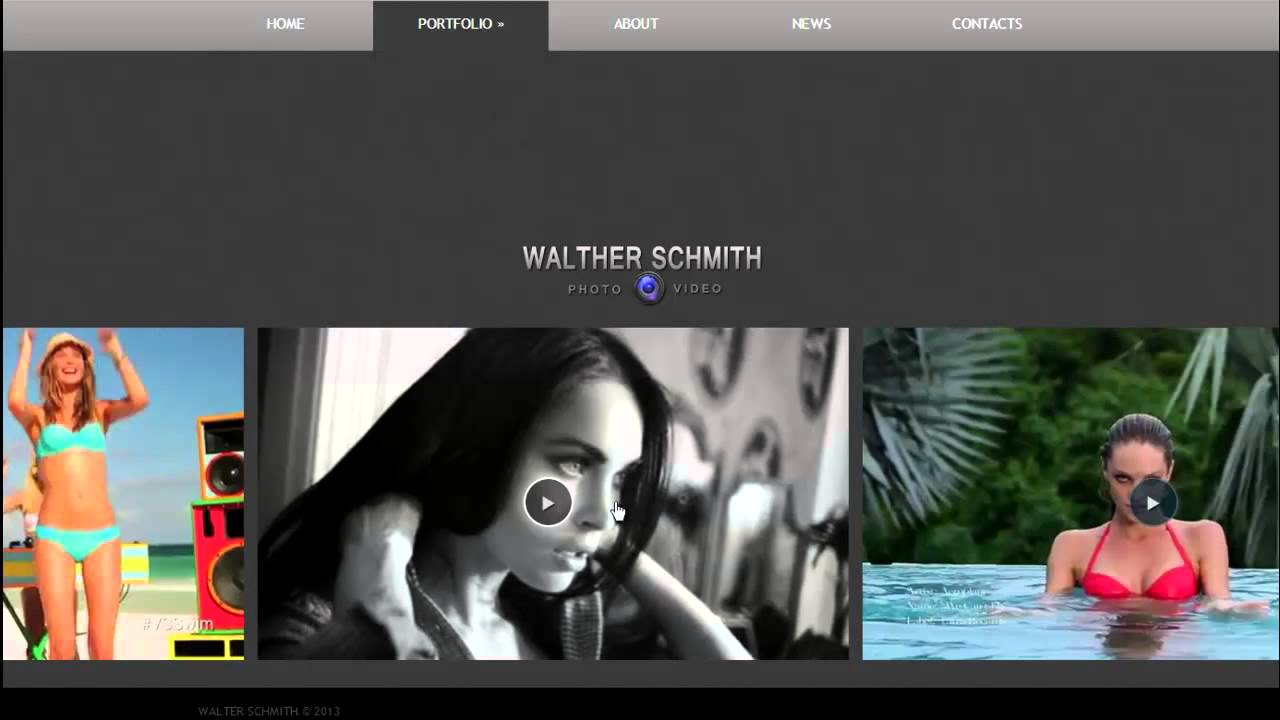 Free HTML5 Website Template - YouTube