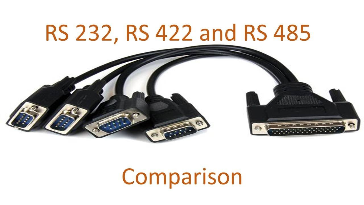 rs 232 rs 422 and rs 485 comparison in hindi [ 1280 x 720 Pixel ]