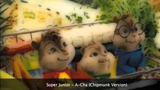 Super Junior - A-Cha (Chipmunk Version + MP3 DL)