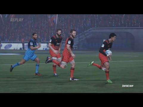Rugby Challenge 3: BE A PRO SᵁᴾᴱRᵁᴳᴮY 2017 CRU v BLU Goal Kick Duties! (Round 9)
