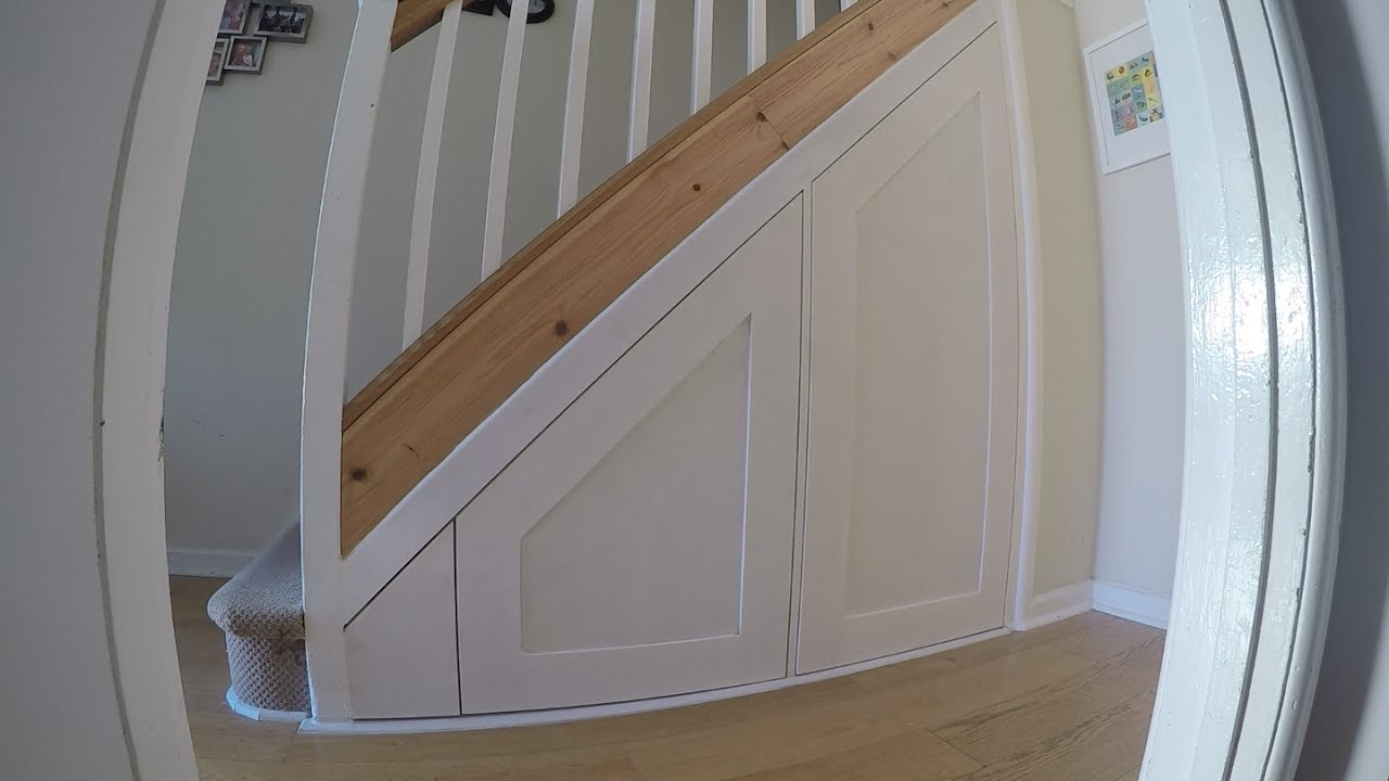 Under Stair Doors : Under stair drawer door shaker style youtube