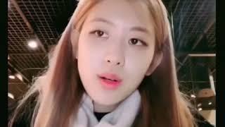 블랙핑크 로제의 인스타스토리에 올라온  보컬/음색