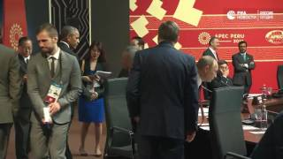 Беседа Путина и Обамы на саммите АТЭС