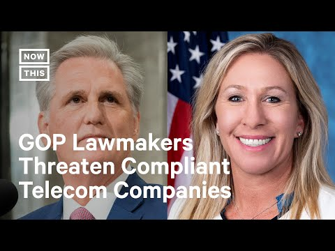 Republicans Lash Out Following January 6 Committee's Telecom Request