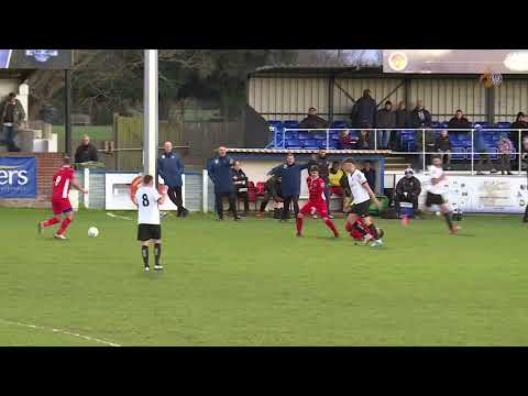 Alex Wall | Red Card | Hungerford Town vs Billericay Town | FA Trophy | 25.11.2017