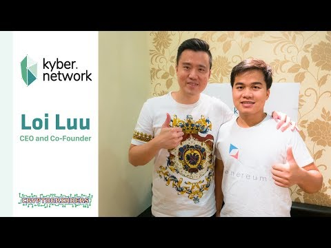 KyberNetwork AMA Live in Singapore with Loi Luu (CEO and Founder)