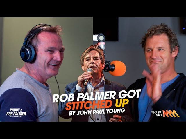 Rob Palmer Gets Stitched Up By John Paul Young | Triple M
