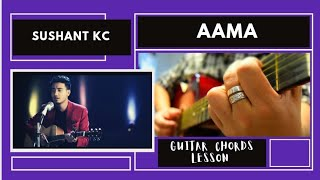 Sushant Kc Aama Guitar Lesson NRK.mp3
