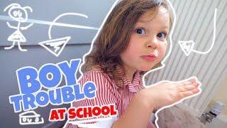 SHE has BOY problems at SCHOOL!!