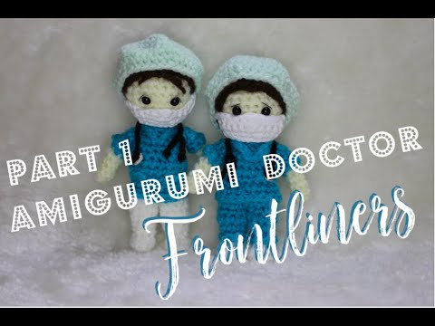 Amigurumi Nurse - PDF WRITTEN PATTERN (digital item) | Crochet ... | 360x480