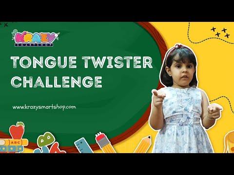 Hindi Tongue Twister Challenge for Kids  Fun Hindi Tongue Twister