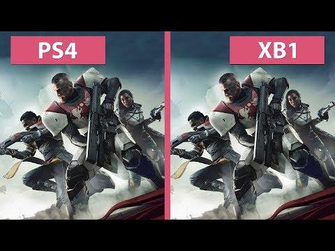 Destiny 2 Beta – PS4 vs. Xbox One Frame Rate Test & Graphics Comparison