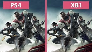 Destiny 2 Beta PS4 vs. Xbox One Frame Rate Test Graphics Comparison