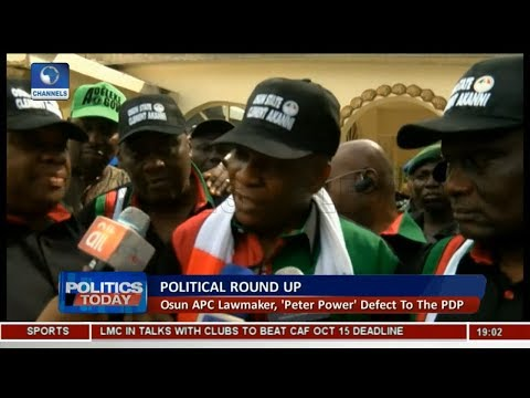 Osun's 'Peter Power' Defects To PDP As Edo INEC Suffers Flood |Politics Today|