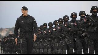 DRIL SRPSKE ŽANDARMERIJE - Žandarmerija Srbije radi simulaciju napada na kasarnu!