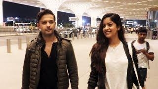 Vatsal Sheth And Wife Ishita Dutta Spotted At Mumbai Airport