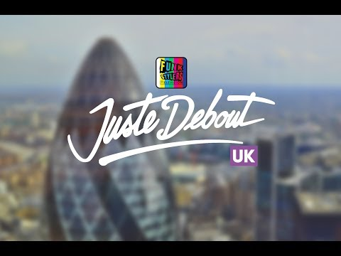 Rashaad | Popping | Judges Demo | Juste Debout UK 2018 | FSTV