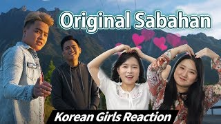 Korean Girls React to Original Sabahan Atmosfera ft Floor 88 Blimey