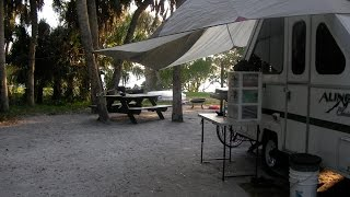 Fort De Soto Campground tour and overview St. Petersburg, Florida