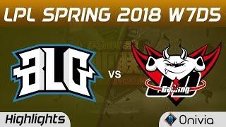Video BLG vs JDG Highlights Game 2 LPL Spring 2018 W7D5 Bilibili Gaming vs JD Gaming by Onivia download MP3, 3GP, MP4, WEBM, AVI, FLV Maret 2018