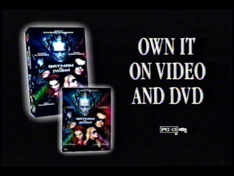 Batman & Robin (1997) Teaser (VHS Capture)