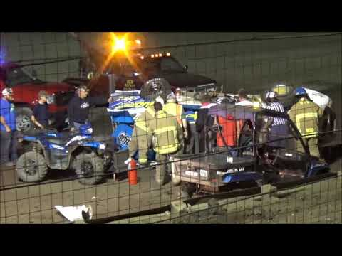 Wagner Speedway Wrecks & Wipe-outs 8-23-19
