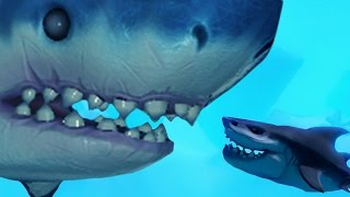 One of MattShea's most viewed videos: LEVEL 500 MEGA SHARK - Feed and Grow