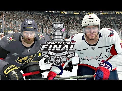 NHL Stanley Cup Final Game 5 Washington Capitals vs Vegas Golden Knights NHL 18 (2018 Stanley Cup)