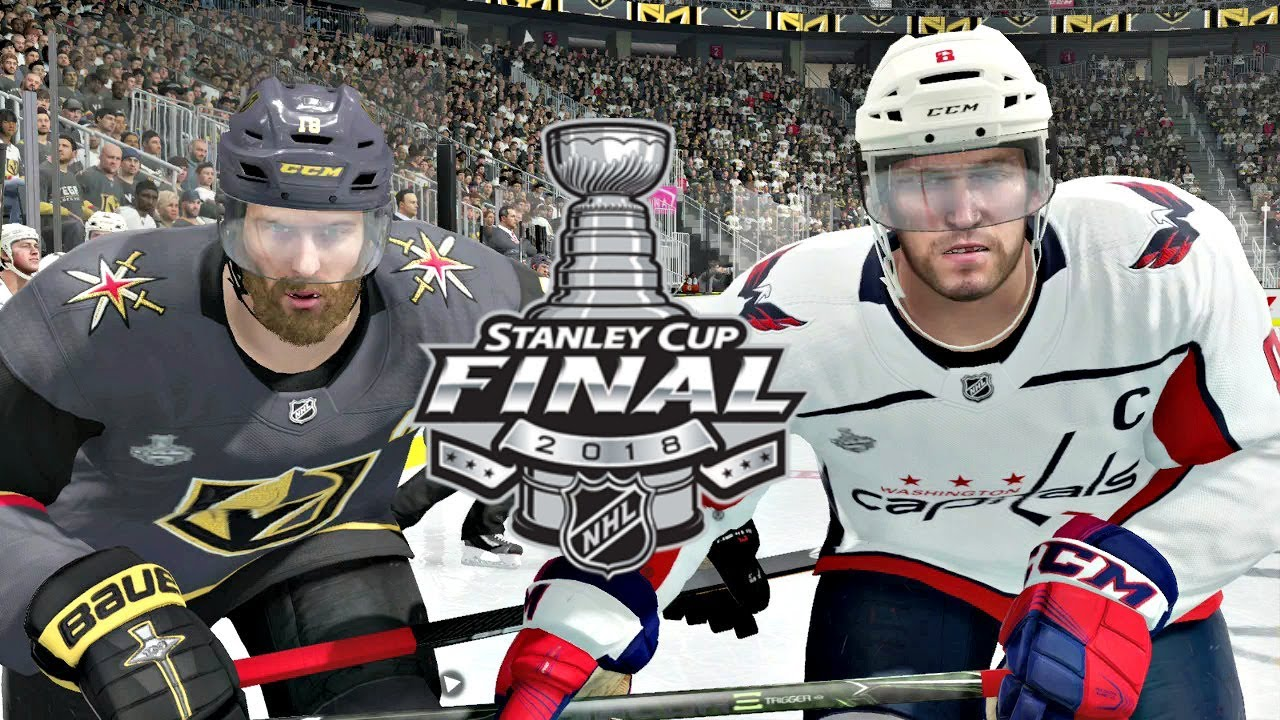 NHL Stanley Cup Final Game 5 Washington Capitals vs Vegas Golden Knights  NHL 18 (2018 Stanley Cup) 30fe395201e