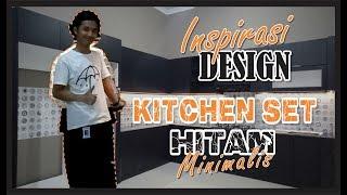Inspirasi Design Kitchen Set,  Hitam Minimalis