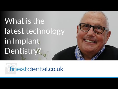 What is the latest technology in implant dentistry?