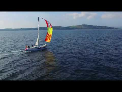 Scottish Sailing - Rise Aerial Media Show Clip
