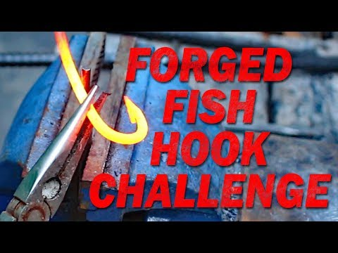 Fishing For Catfish With Hand Forged Fish Hooks! My Ultimate Catfishing Challenge!