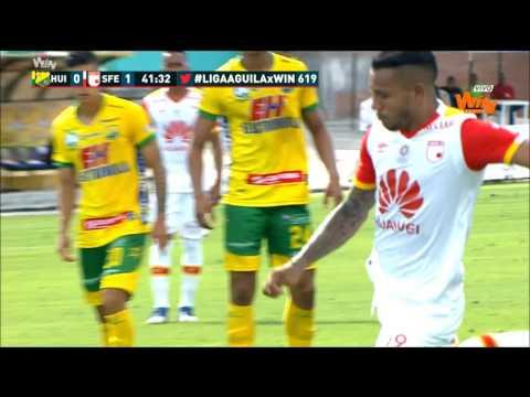 Liga Aguila 2017-II Fecha 4 | Atlético Huila 0 - 2 Santa Fe | Win Sports