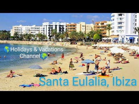 SANTA EULALIA, Ibiza: a video tour