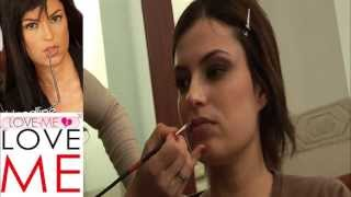 Makeup di Sara Tommasi Video Backstage - Film Vip Sesso e Potere con Nando Colelli