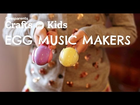 Egg Music Makers | Easter Crafts for Kids | PBS Parents