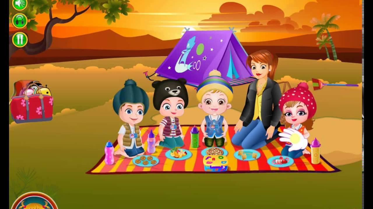 Baby Hazel Summer Camp - yiv.Com - Free Mobile Games Online