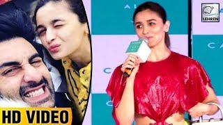 Alia Bhatt SHARES Her Experience On Working With Boyfriend Ranbir Kapoor   Brahmastra   LehrenTV