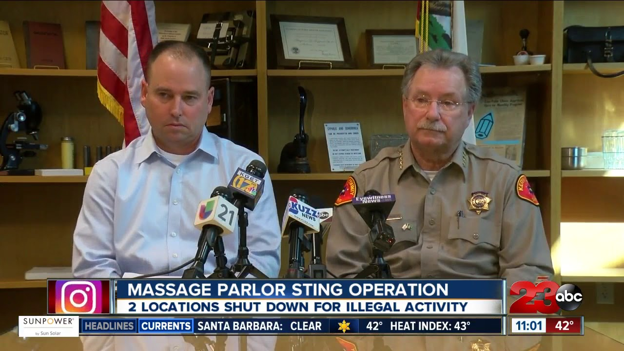 Three people arrested following massage parlor sting operation