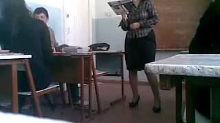 Издевательство над учителем в школе