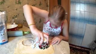 Приготовление домашних пельменей