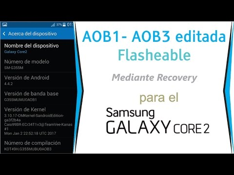 Instalar AOB1 mediante recovery | GonicDroid